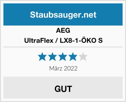 AEG UltraFlex / LX8-1-ÖKO S Test