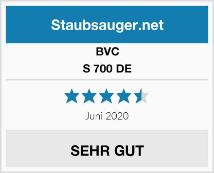 BVC S 700 DE Test