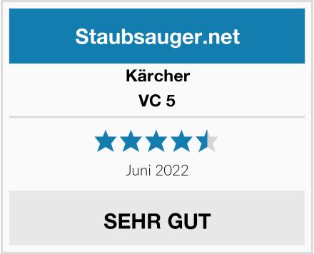 Kärcher VC 5 Test