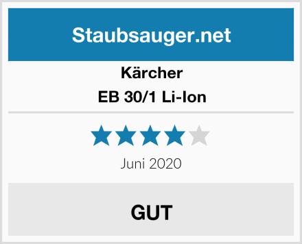 Kärcher EB 30/1 Li-Ion Test