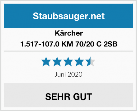 Kärcher 1.517-107.0 KM 70/20 C 2SB Test