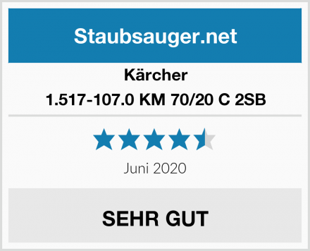 Kärcher 1.517-107.0 KM 70/20 C 2SB Test