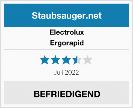 Electrolux Ergorapid Test