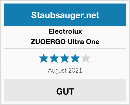 Electrolux ZUOERGO Ultra One Test