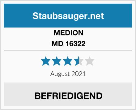 Medion MD 16322 Test