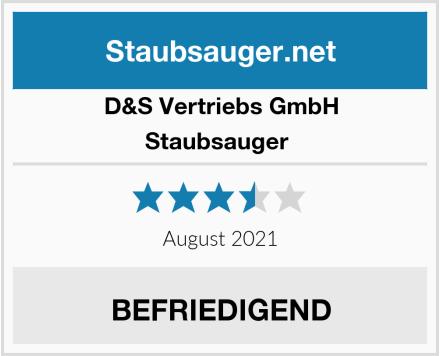 D&S Vertriebs GmbH Staubsauger  Test