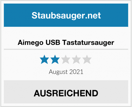 No Name Aimego USB Tastatursauger Test