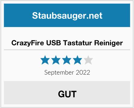 No Name CrazyFire USB Tastatur Reiniger Test