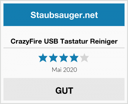 CrazyFire USB Tastatur Reiniger Test