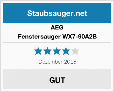 AEG Fenstersauger WX7-90A2B Test