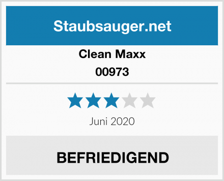 Clean Maxx 00973 Test