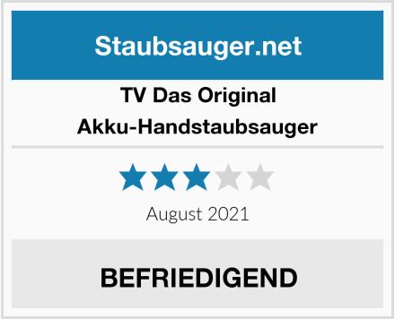 TV Das Original Akku-Handstaubsauger Test