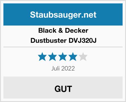 Black & Decker Dustbuster DVJ320J Test