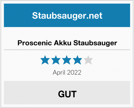 No Name Proscenic Akku Staubsauger Test