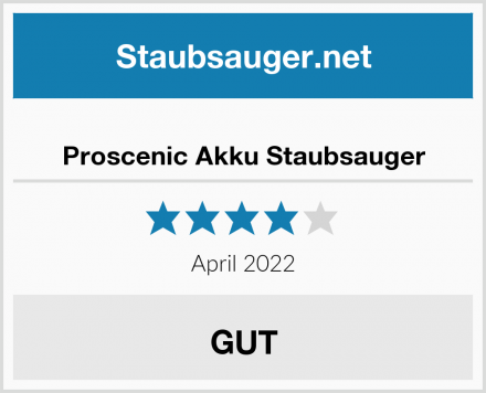 Proscenic Akku Staubsauger Test