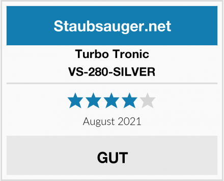 Turbo Tronic VS-280-SILVER Test