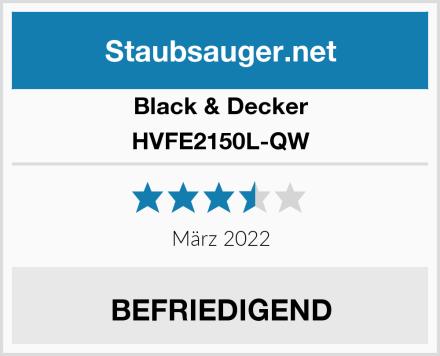 Black & Decker HVFE2150L-QW Test