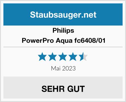 Philips PowerPro Aqua fc6408/01 Test