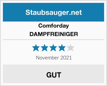 Comforday DAMPFREINIGER  Test