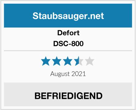 Defort DSC-800 Test