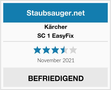 Kärcher SC 1 EasyFix Test