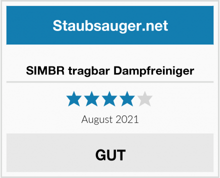 No Name SIMBR tragbar Dampfreiniger Test