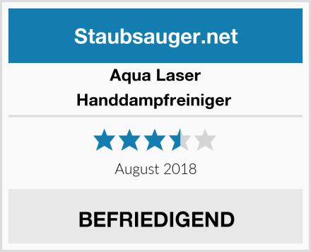 Aqua Laser Handdampfreiniger  Test