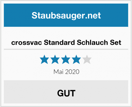 crossvac Standard Schlauch Set Test