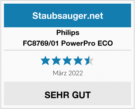 Philips FC8769/01 PowerPro ECO Test