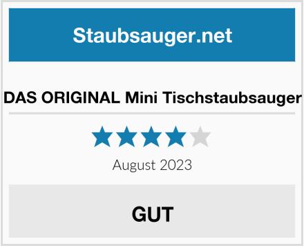 DAS ORIGINAL Mini Tischstaubsauger  Test