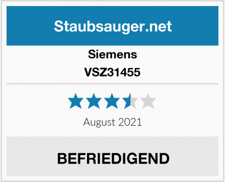 Siemens VSZ31455 Test