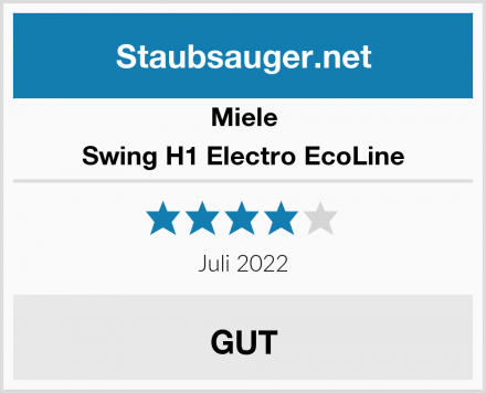Miele Swing H1 Electro EcoLine  Test