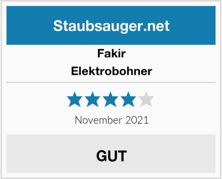 Fakir Elektrobohner Test