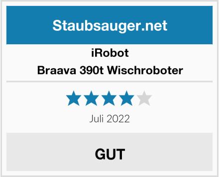 iRobot Braava 390t Wischroboter Test