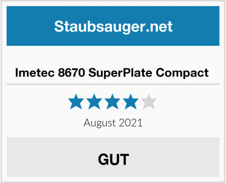 Imetec 8670 SuperPlate Compact  Test
