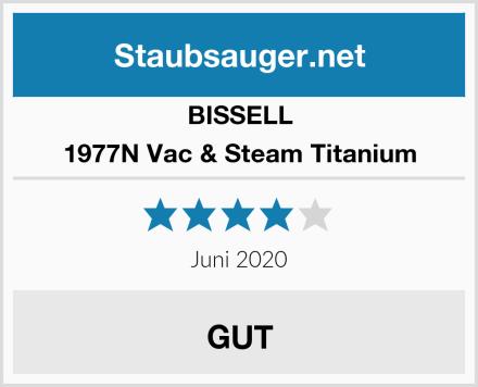 Bissell 1977N Vac & Steam Titanium Test
