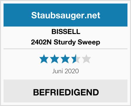 Bissell 2402N Sturdy Sweep Test