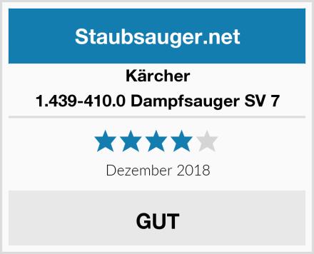 Kärcher 1.439-410.0 Dampfsauger SV 7 Test