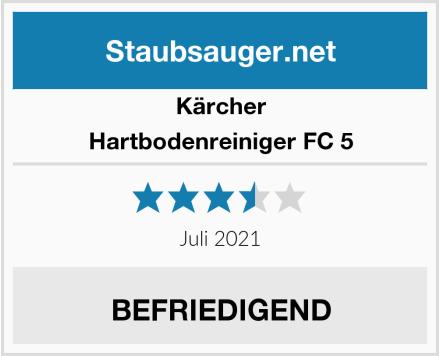 Kärcher Hartbodenreiniger FC 5 Test