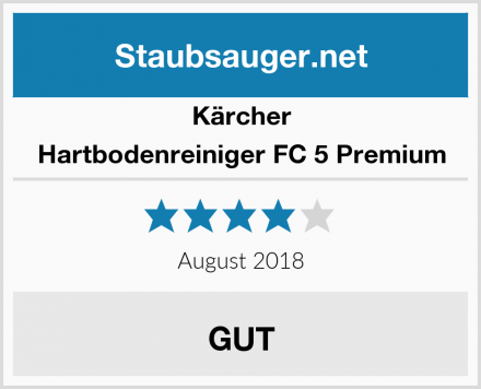 Kärcher Hartbodenreiniger FC 5 Premium Test