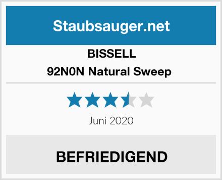Bissell 92N0N Natural Sweep  Test