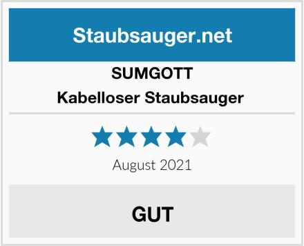 SUMGOTT Kabelloser Staubsauger  Test