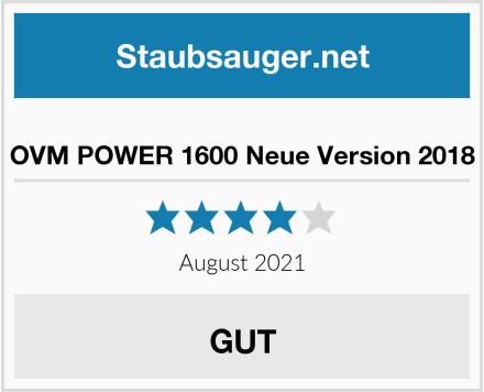 OVM POWER 1600 Neue Version 2018 Test