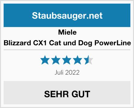 Miele Blizzard CX1 Cat und Dog PowerLine Test