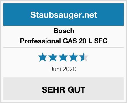 Bosch Professional GAS 20 L SFC Test