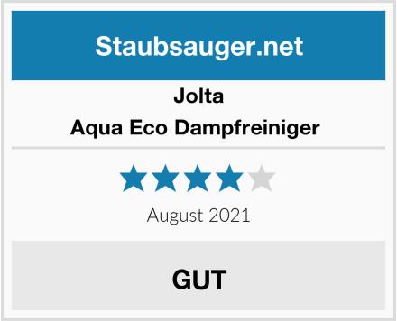 Jolta Aqua Eco Dampfreiniger  Test