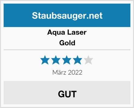 Aqua Laser Gold Test