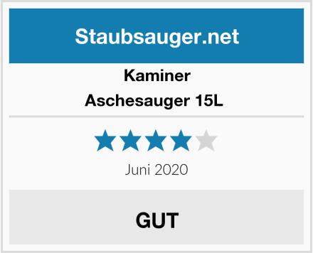 Kaminer Aschesauger 15L  Test