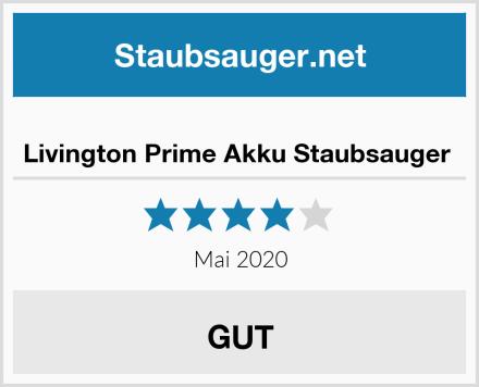 Livington Prime Akku Staubsauger  Test