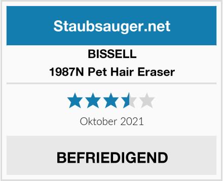 Bissell 1987N Pet Hair Eraser  Test